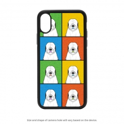 Old English Sheepdog iPhone X Case