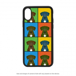 Plott Hound iPhone X Case