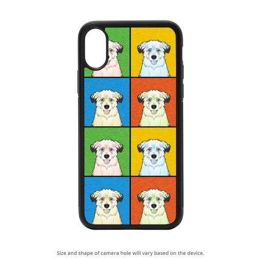 Pyrenean Shepherd iPhone X Case