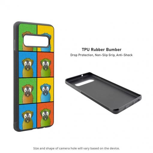 Soft Coated Wheaten Terrier Samsung Galaxy S10 Case