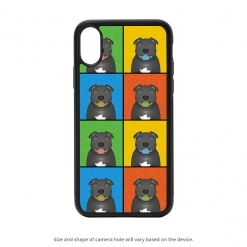 Staffordshire Bull Terrier iPhone X Case