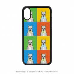 Schnauzer iPhone X Case