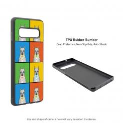 Schnauzer Samsung Galaxy S10 Case