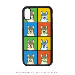 Swedish Vallhund iPhone X Case