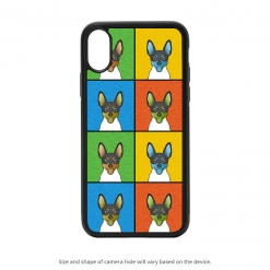 Toy Fox Terrier iPhone X Case