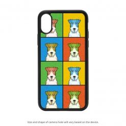 Wire Fox Terrier iPhone X Case