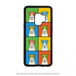 Wire Fox Terrier Galaxy S9 Case