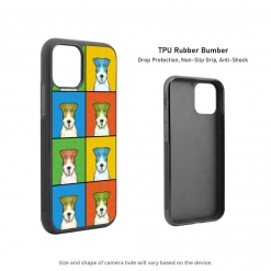 Wire Fox Terrier iPhone 11 Case
