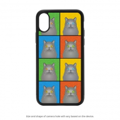 Chartreux iPhone X Case