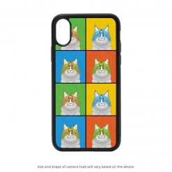 Maine Coon iPhone X Case