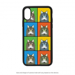 Norwegian Forest Cat iPhone X Case