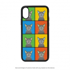 Russian Blue iPhone X Case