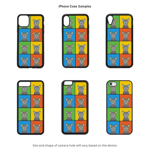 Russian Blue iPhone Cases