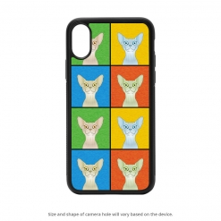 Sphynx iPhone X Case