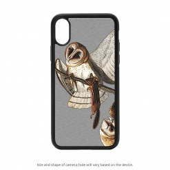 Barn Owl iPhone X Case