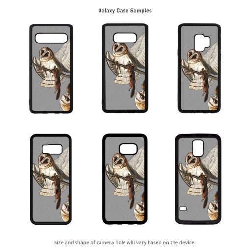Barn Owl Galaxy Cases