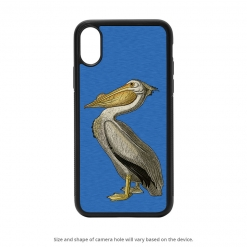 American White Pelican iPhone X Case