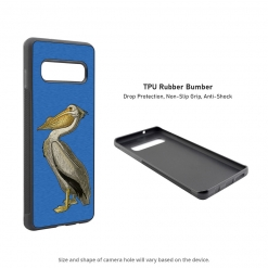 American White Pelican 2016 Samsung Galaxy S10 Case