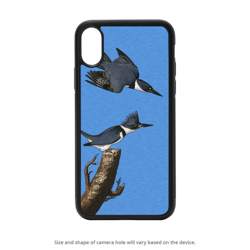 Belted Kingfisher iPhone X Case