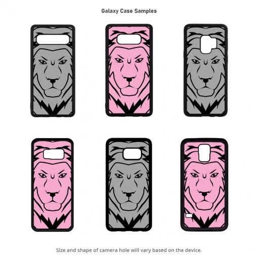 Lion Head Galaxy Cases