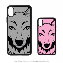 Wolf Head iPhone X Case
