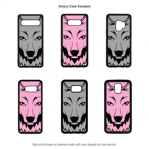 Wolf Head Galaxy Cases