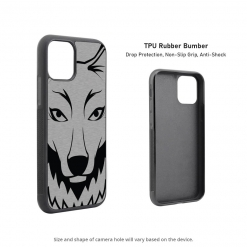 Wolf Head iPhone 11 Case