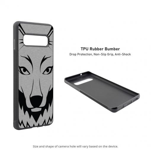 Wolf Head Samsung Galaxy S10 Case