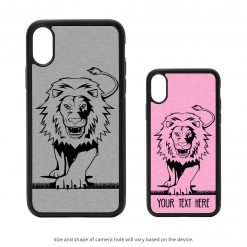 Lion iPhone X Case