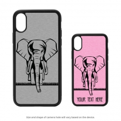 Elephant iPhone X Case
