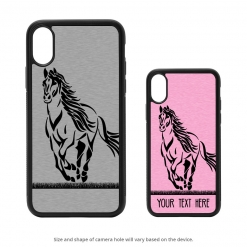 Running Horse iPhone X Case