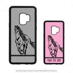 Running Horse Galaxy S9 Case