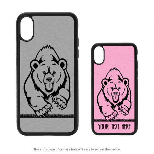 Grizzly Bear iPhone X Case