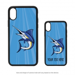 Blue Marlin iPhone X Case