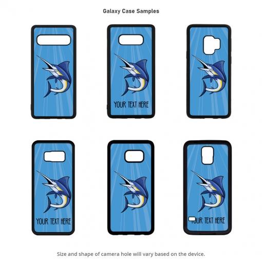 Blue Marlin Galaxy Cases