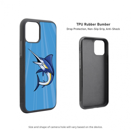 Blue Marlin iPhone 11 Case
