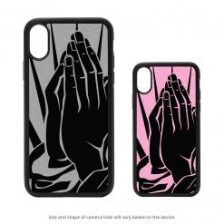 Praying Hands iPhone X Case