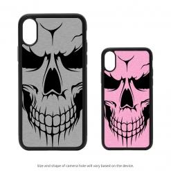 Evil Skull iPhone X Case