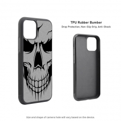 Evil Skull iPhone 11 Case