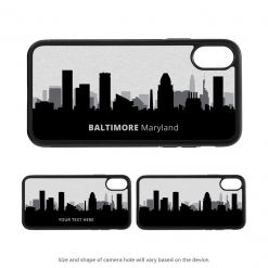 Baltimore iPhone X Case