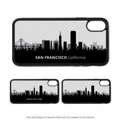 San Francisco iPhone X Case