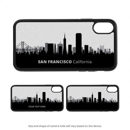 San Francisco iPhone X Case