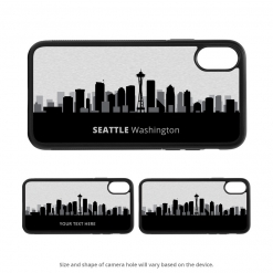 Seattle iPhone X Case