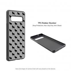 Border Collie Samsung Galaxy S10 Case